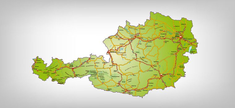 Österreichweit tätig